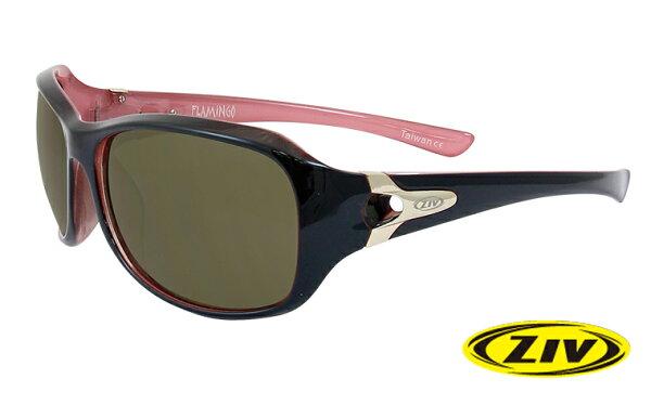 ZIV FLAMINGO 太陽眼鏡 F100014 黑紅框/茶片(20)台灣優視 (原台中秀山莊)