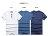 ☆BOY-2☆【NR35001】韓版簡約休閒排釦短袖T恤 1