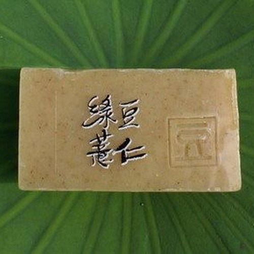 阿原肥皂---天然手工肥皂---綠豆薏仁皂100g
