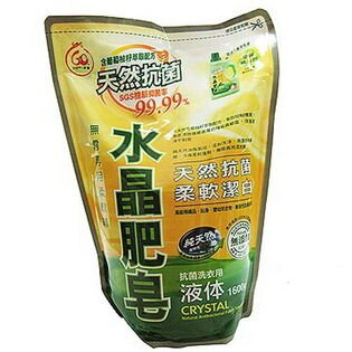 南僑水晶肥皂抗菌洗衣精補充包1600g