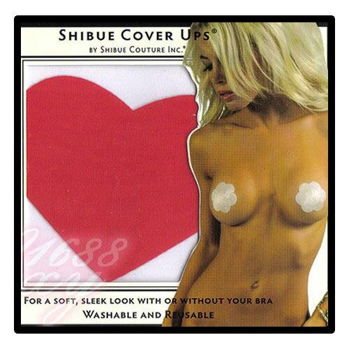 【亞娜絲情趣用品】美國SHIBUE Tabue Cover Ups/心型胸貼(紅色)