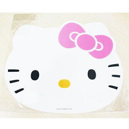 【敵富朗超巿】Hello Kitty造型餐墊 2