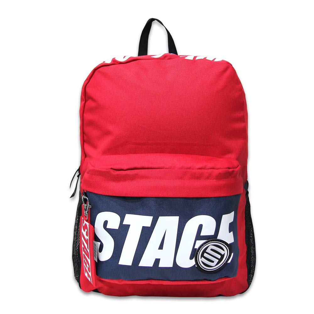 STAGE TOP SHOW BACKPACK 黑色 / 紅色 / 湖水綠色 三色 5