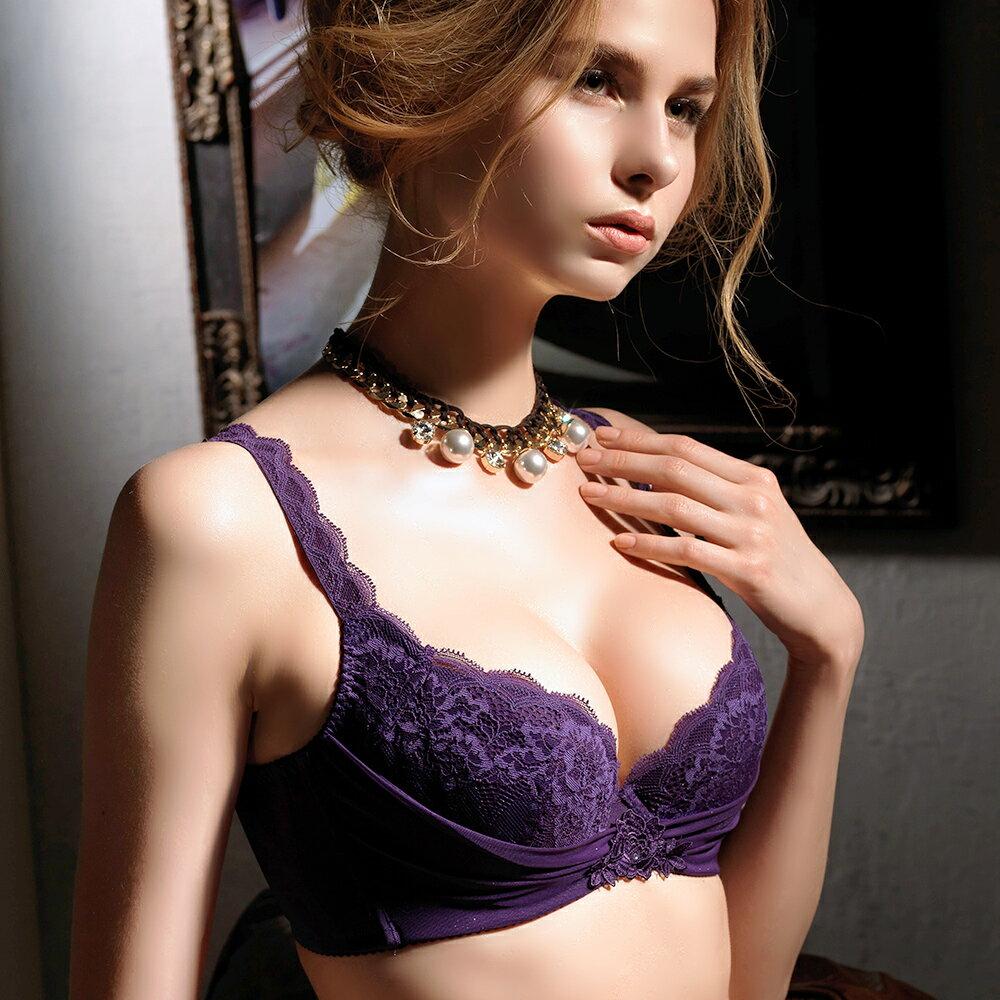 【Favori】魔力 美塑系列E罩杯內衣 (葡萄紫) 2