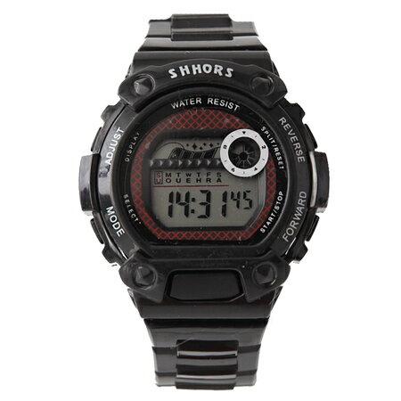手錶 繽紛色彩多功能運動電子錶 中性設計 防水30米 可調式矽膠錶帶 柒彩年代【NE1846】單支價格 - 限時優惠好康折扣
