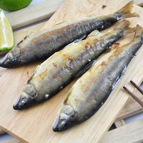 外銷日本等級宜蘭小香魚(公)一盒10尾(每尾100g)共一公斤