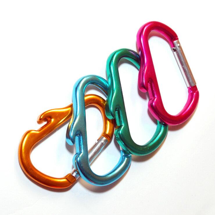LOGOS D型開瓶勾環四入顏色隨機出貨72685111 [阿爾卑斯戶外用品] 土城 - 限時優惠好康折扣