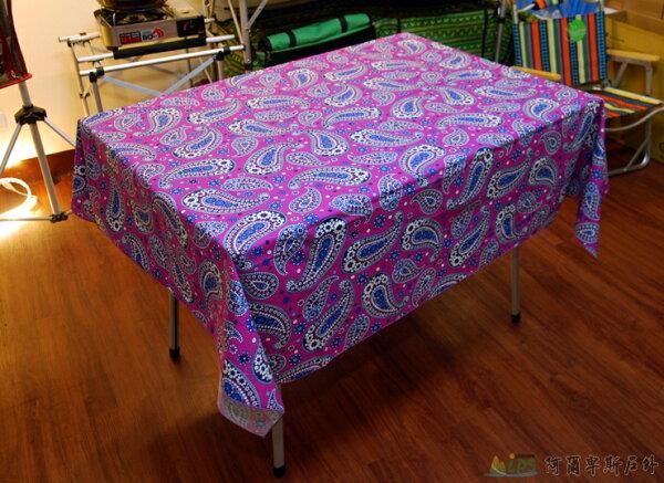 [阿爾卑斯戶外/露營] 土城 精選桌巾桌布124 x 154cm多款蛋捲桌摺疊桌餐桌適用 AD0047