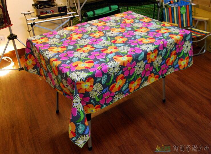 Outdoorbase 八爪魚(M)-鋁合金鋁捲桌(M)(附袋) 桌布專用特惠組 3