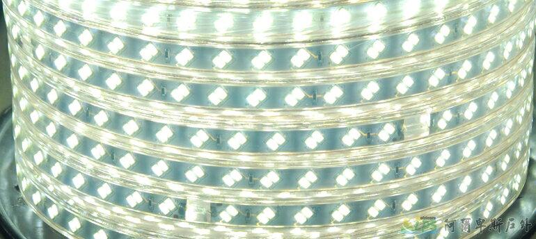 [阿爾卑斯戶外/露營] 土城 白光 10M LED高效率防水條燈 / 露營燈 / 營帳燈 5030LED-10M-W 1