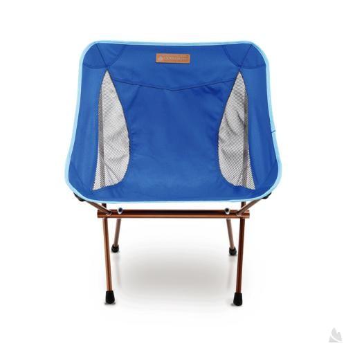 OutdoorBase AMOEBA-1kg超輕量鋁合金摺疊休閒椅-簡約藍-耐重120kg 25711 [阿爾卑斯戶外/露營] 土城 - 限時優惠好康折扣