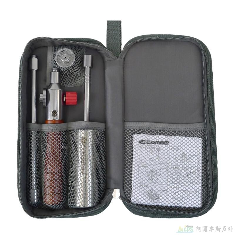OutdoorBase燄舞-二段式鋁合金噴火槍-卡式瓦斯噴槍/噴燈/生火/烤肉/烘焙28118 [阿爾卑斯戶外/露營] 土城 0