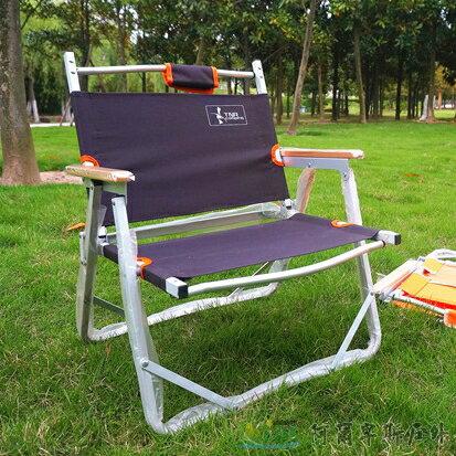 [阿爾卑斯戶外/露營] 土城 TNR 導演椅 折疊椅 戶外釣魚椅-雙層布料咖啡色 EA0030 0