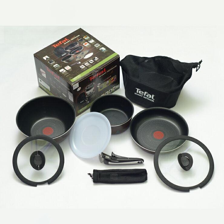 RV 桶 + 法國製 Tefal 特福巧變精靈8件鍋具特惠組 1