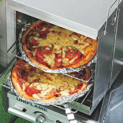 [阿爾卑斯戶外/露營] 土城 UNIFLAME 折疊式烤箱(瓦斯爐適用) 665893 0