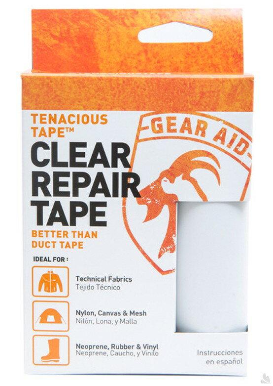 McNett Tenacious Tape強力補丁膠帶透明) 7.6 x 50.8 cm, 10691 [阿爾卑斯戶外/露營] 土城 0