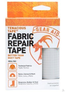 McNett Tenacious Tape強力補丁膠帶(銀白色) 7.6 x 50.8 cm, 10696 [阿爾卑斯戶外/露營] 土城