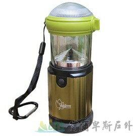 [阿爾卑斯戶外/露營] 土城 Outdoorbase 3W LED 露營兩用3段亮度可調式營燈 185流明 (黃光) 21768 - 限時優惠好康折扣