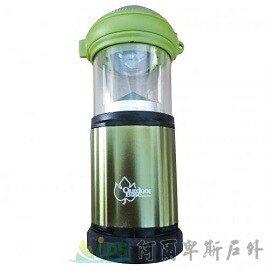 [阿爾卑斯戶外/露營] 土城 Outdoorbase 3W LED 露營兩用3段亮度可調式營燈 185流明 (白光) 手電筒 21713 - 限時優惠好康折扣