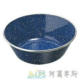 [阿爾卑斯戶外/露營] 土城 日本鹿牌 CAPTAIN STAG 藍琺瑯杯15cm 餐盤 碗盤 盤子 M-8087
