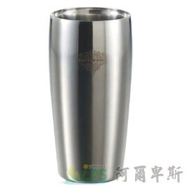 [阿爾卑斯戶外/露營] 土城 日本鹿牌 CAPTAIN STAG 不鏽鋼真空二重斷熱杯450ml 雙層保溫保冷杯 鋼杯 啤酒杯 UE-3202 0