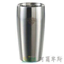 [阿爾卑斯戶外/露營] 土城 日本鹿牌 CAPTAIN STAG 不鏽鋼真空二重斷熱杯450ml 雙層保溫保冷杯 鋼杯 啤酒杯 UE-3202