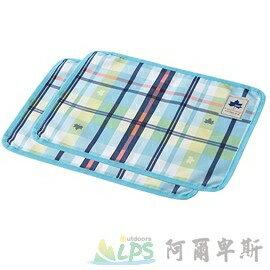 [阿爾卑斯戶外/露營] 土城 LOGOS 愛麗絲格紋餐墊2入40X30cm(藍) 73189006 - 限時優惠好康折扣