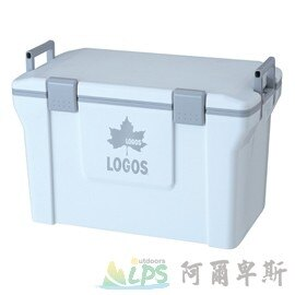 [阿爾卑斯戶外/露營] 土城 LOGOS 冰桶 行動冰箱35L(白) 81448032 0