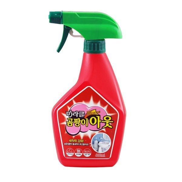 韓國 奇蹟魔俐強效除霉噴劑 附噴頭 噴霧式 (600ml) 【巴布百貨】