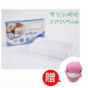 【加贈KUKU鴨小夜燈】新加坡【Sofzsleep】嬰兒乳膠枕 Baby Dount Pillow 0