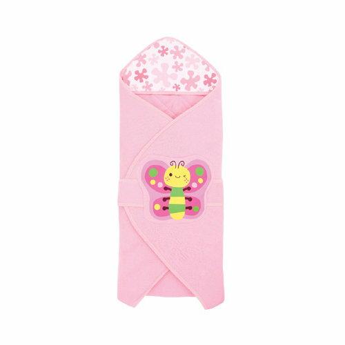 『121婦嬰用品館』拉孚兒 舒棉造型包巾 - 蝴蝶 0
