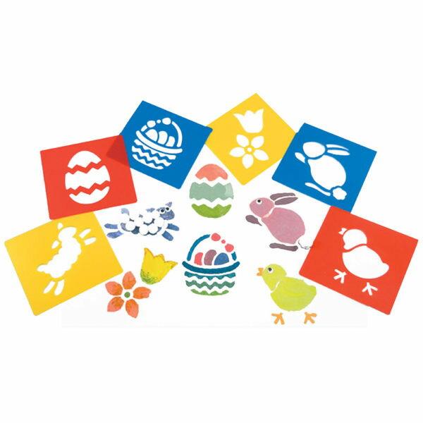 【華森葳兒童教玩具】美育教具系列-模型畫板-復活節 L1-AP/2012/WSE (華森葳系列消費1500元加贈赫利手動炫光風扇)