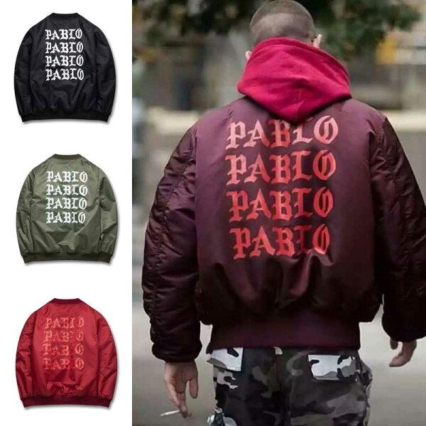 50%OFF【A017535C】 I Feel Like Pablo 限定夾克外套 kanye west著用歐美街頭棒球外套