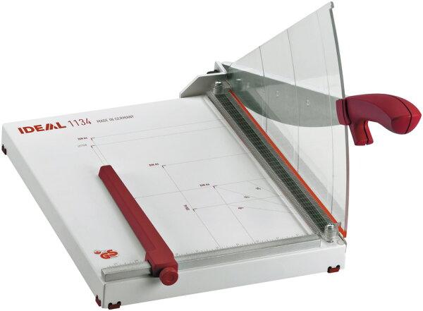 德國IDEAL 1134 35cm入口 裁紙器 裁紙機 手動壓紙