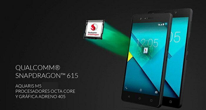 AQUARIS M5 FHD 4G 16GB - 2GB RAM NEGRO (OUTLET). SMARTPHONE LIBRE. 3