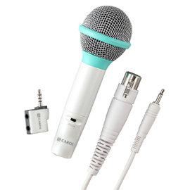 【音橋電子】CAROL 行動KTV麥克風轉接器 iCT-12歡唱組(青春綠)-蘋果裝置專用版