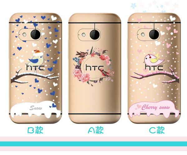 [HTC] ✨ 鳥語系列透明軟殼 ✨[M8,M9,M9+,M10,D816,D820,D826,D728,A9,X9,728,825,830 ]