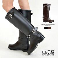 下雨天推薦雨靴/雨傘/雨衣推薦防水雨靴 側扣環長筒雨靴-山打努SANDARU【101B519#82】