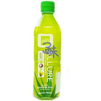 (台灣) ALOE VERA DRINK 雅姿樂   芒果山竺蘆薈汁 1組 3瓶 500ml*3瓶 特價 95元【811955011016】