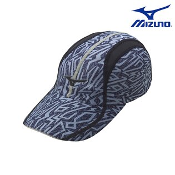 J2TW600209 (黑 ) 昇華印刷+反光夾條 運動路跑帽 【美津濃MIZUNO】