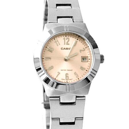 CASIO卡西歐 現代小資女小框數字石英手錶 女孩腕錶 實用日期窗 柒彩年代【NE1871】原廠公司貨 0