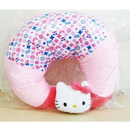 [敵富朗超市]Kitty和風多功能月亮枕 0