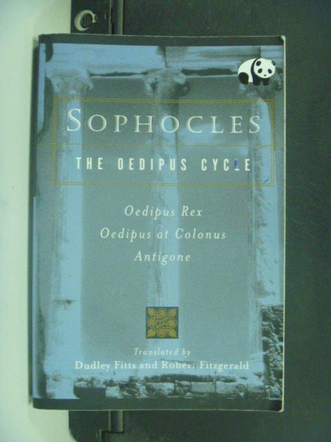 ~書寶 書T3/原文小說_GJS~The Oedipus Cycle_Sophocles