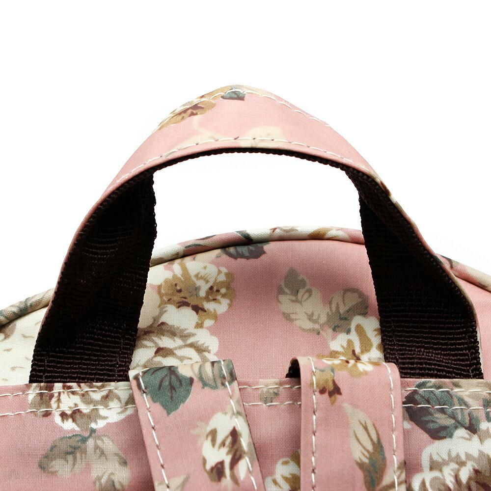 【BEIBAOBAO】粉色花漾親子包( 大+中+小  共三個) 7
