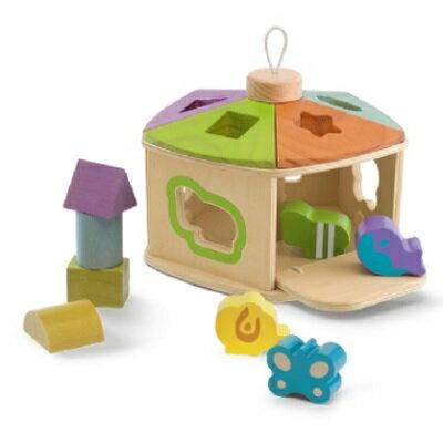 【安琪兒】義大利【Chicco】木製益智遊戲屋-18m+ - 限時優惠好康折扣