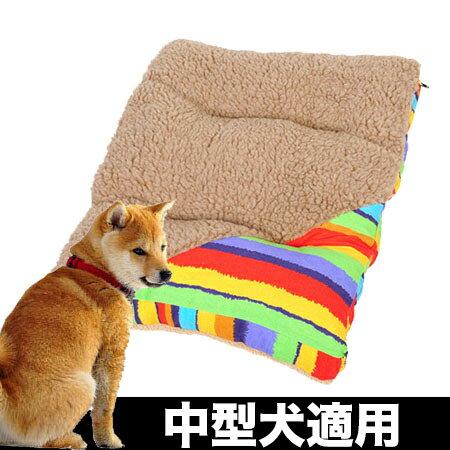 【小樂寵】雙面彩虹羊羔絨可拆卸床墊 M/L號-75cm