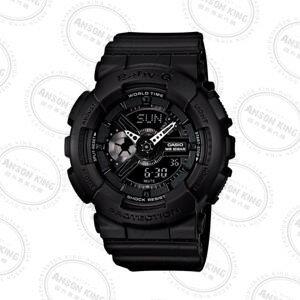 國外代購CASIO BABY-G Ba-110BC-1A 消光黑 雙顯 防水 手錶 腕錶 情侶錶 0
