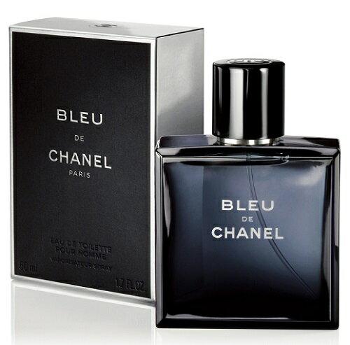 (現貨+預購) 香奈兒 CHANEL BLEU 藍色男性淡香水 50ML ☆真愛香水★