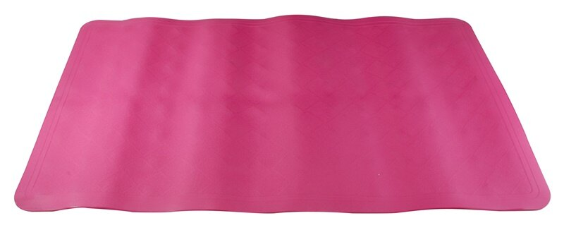 【凱樂絲】魔術防滑浴室墊(紅色) -背面密集吸盤-浴室, 廚房, 居家安全 保護 長輩, 小孩, 孕婦止滑,預防跌倒 3
