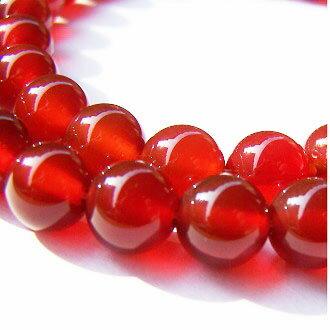 [紅瑪瑙AA]天然寶石 8mm圓形珠 diy飾品散珠 0